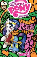 My Little Pony Micro Series #3 Rarity Cover B- Mebberson [Comic]