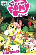 My Little Pony Micro Series #4 Fluttershy Cover A- Fleecs [Comic] THUMBNAIL