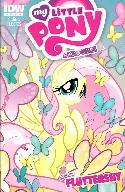 My Little Pony Micro Series #4 Fluttershy Cover B- Mebberson [Comic]