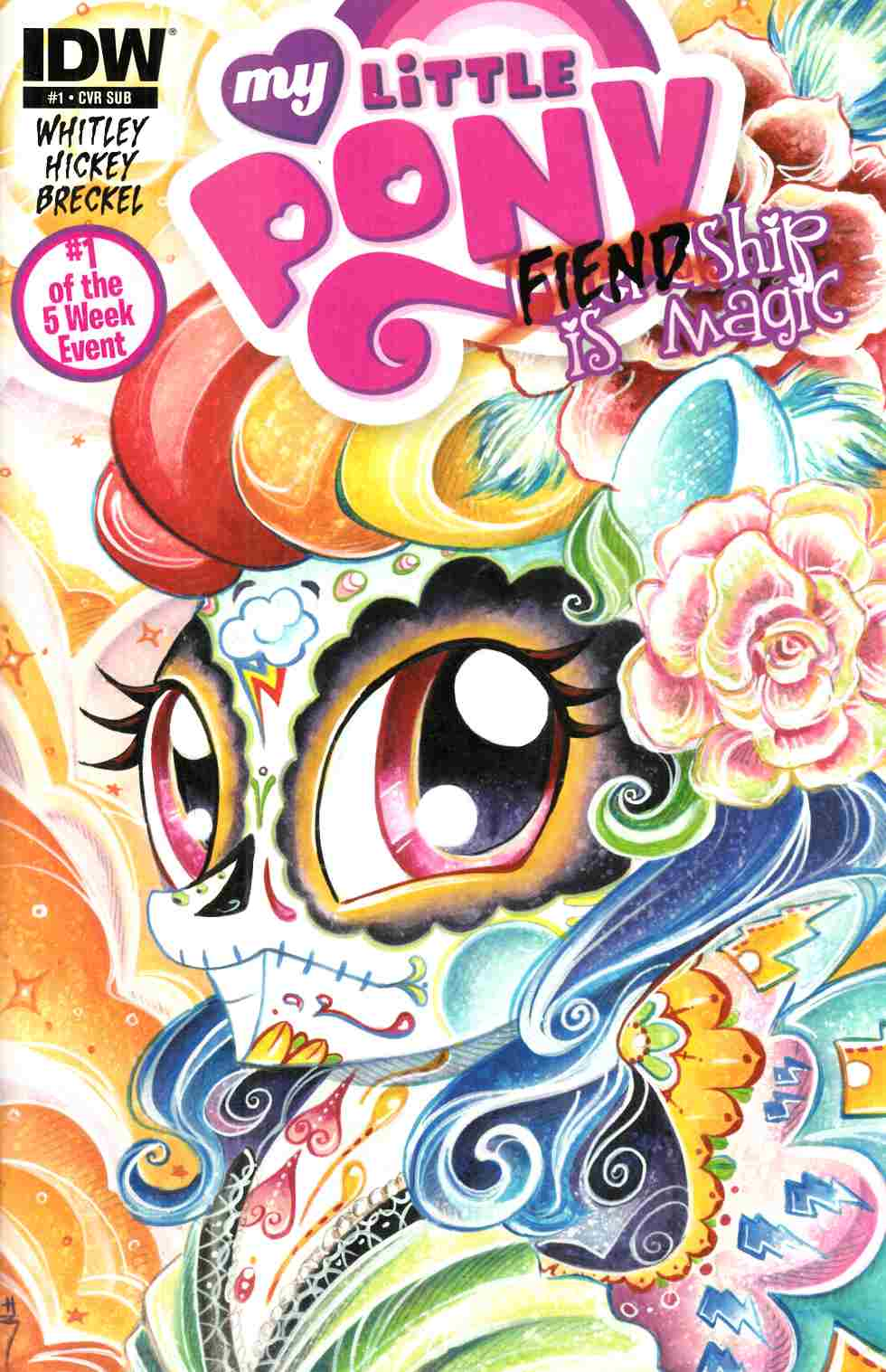 My Little Pony Fiendship Is Magic #1 Sombra Subscription Cover [IDW Comic] THUMBNAIL