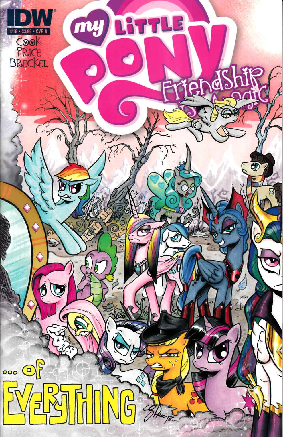 My Little Pony Friendship Is Magic #19 Cover A- Price [Comic] THUMBNAIL
