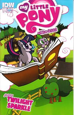 My Little Pony Micro Series #1 (Twilight Sparkle) Cover B [Comic] LARGE