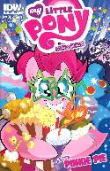 My Little Pony Micro Series #5 Pinkie Pie Cover B- Mebberson [Comic] THUMBNAIL