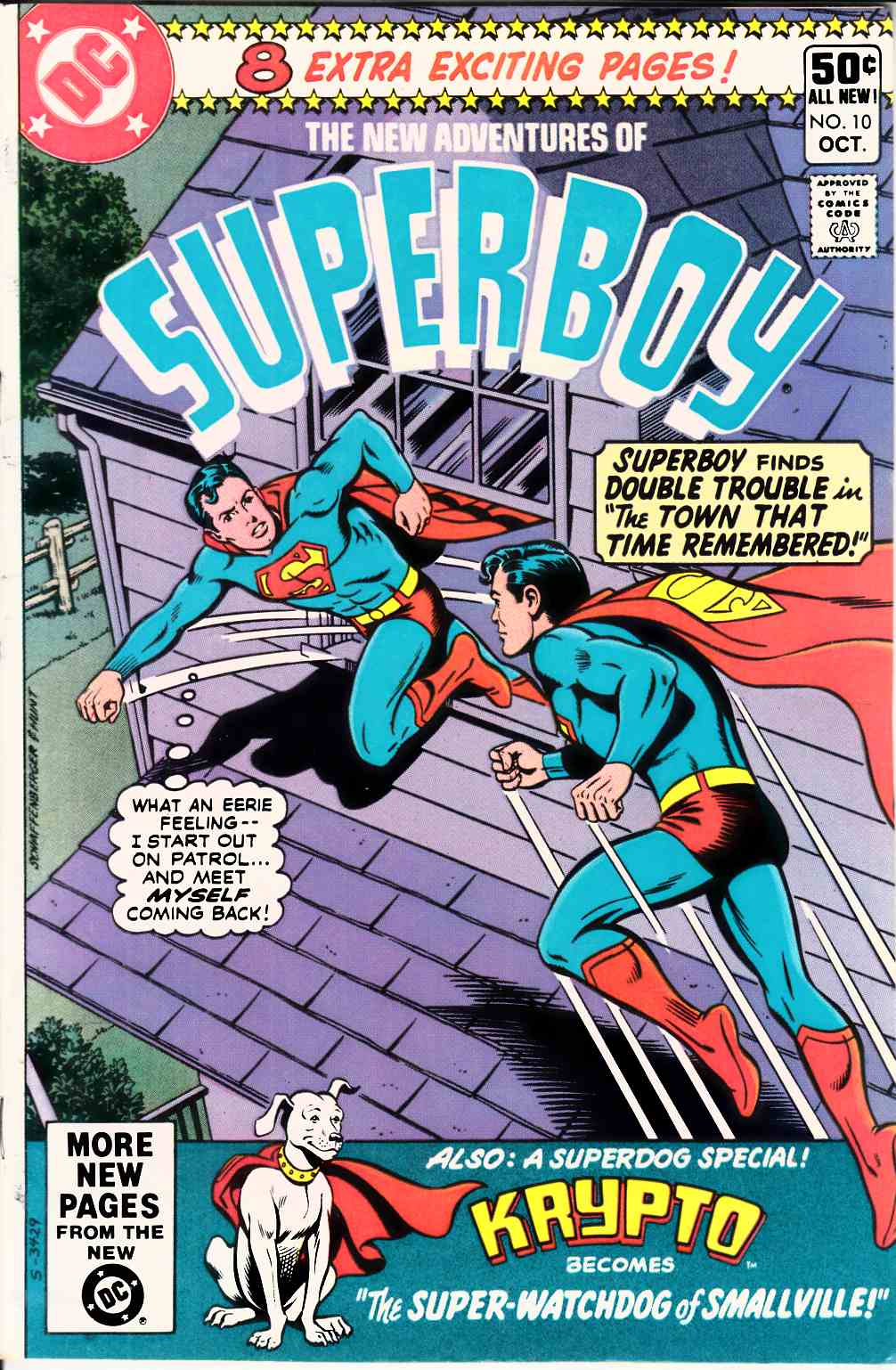 New Adventures of Superboy #10 Very Fine (8.0) [DC Comic] THUMBNAIL