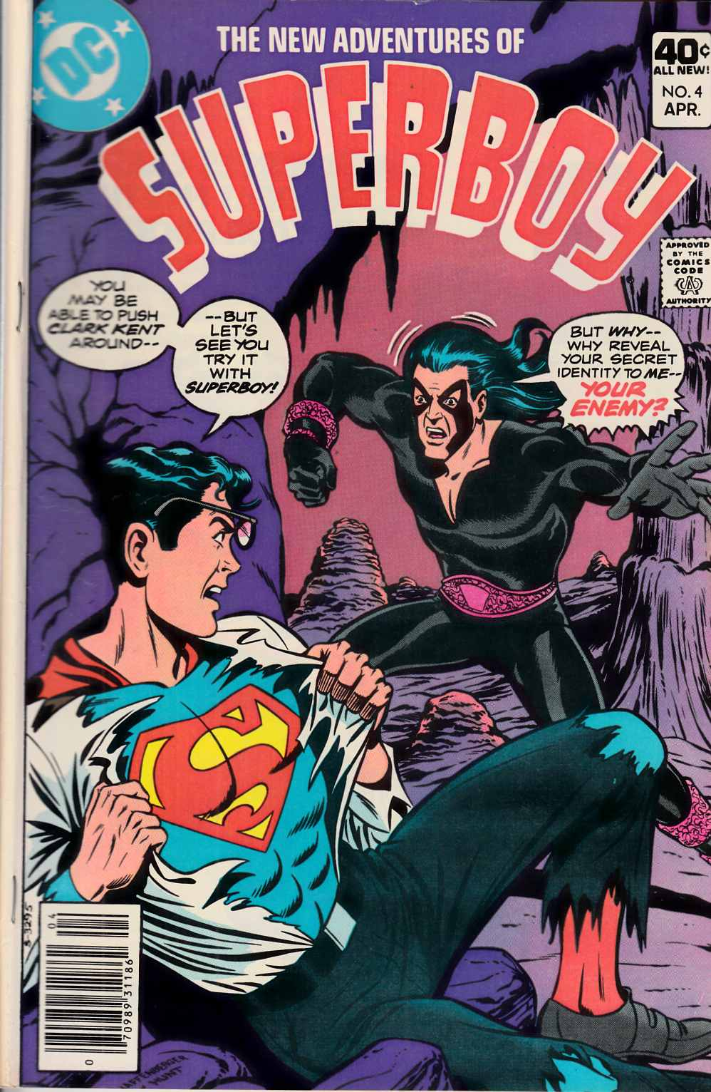 New Adventures of Superboy #4 Fine (6.0) [DC Comic] THUMBNAIL