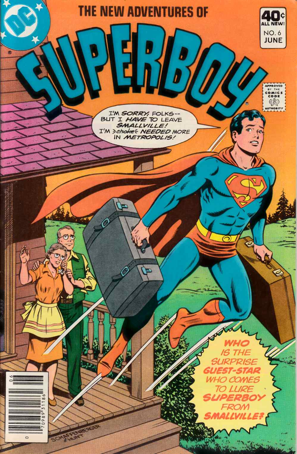 New Adventures of Superboy #6 Very Fine Minus(7.5) [DC Comic] THUMBNAIL