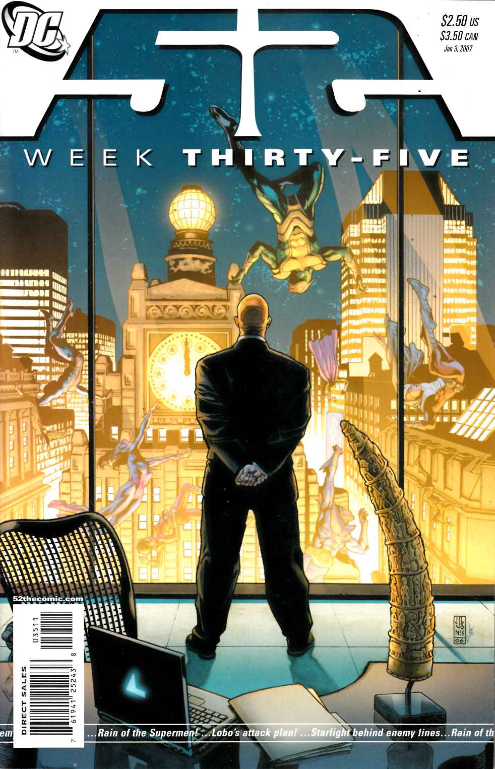 52 Week #35 Very Fine Plus (8.5) [DC Comic] LARGE