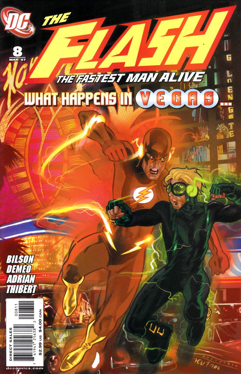 Flash the Fastest Man Alive #8 Near Mint Minus (9.2) [DC Comic]_THUMBNAIL