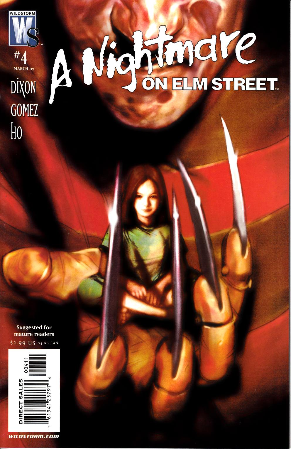 Nightmare on Elm Street #4 Near Mint (9.4) [DC Comic] THUMBNAIL