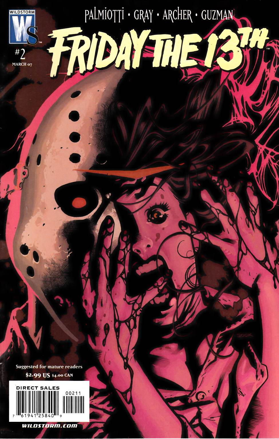 Friday the 13th #2 Very Fine (8.0) [DC Comic] THUMBNAIL