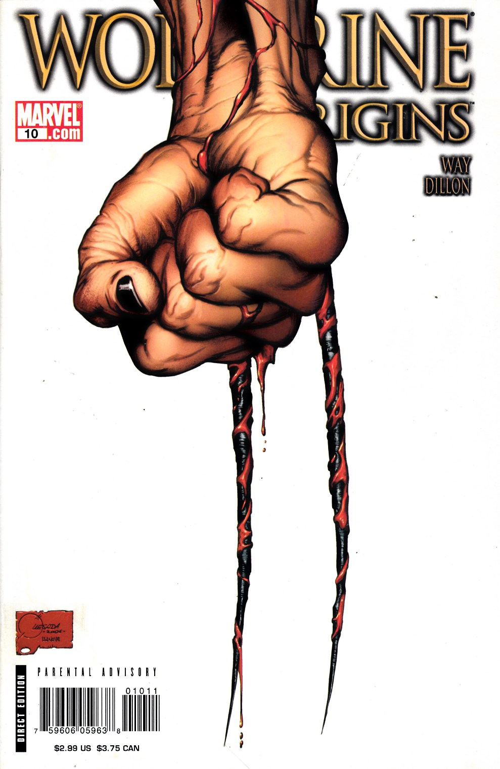 Wolverine Origins #10 Cover A Very Fine (8.0) [Marvel Comic] THUMBNAIL
