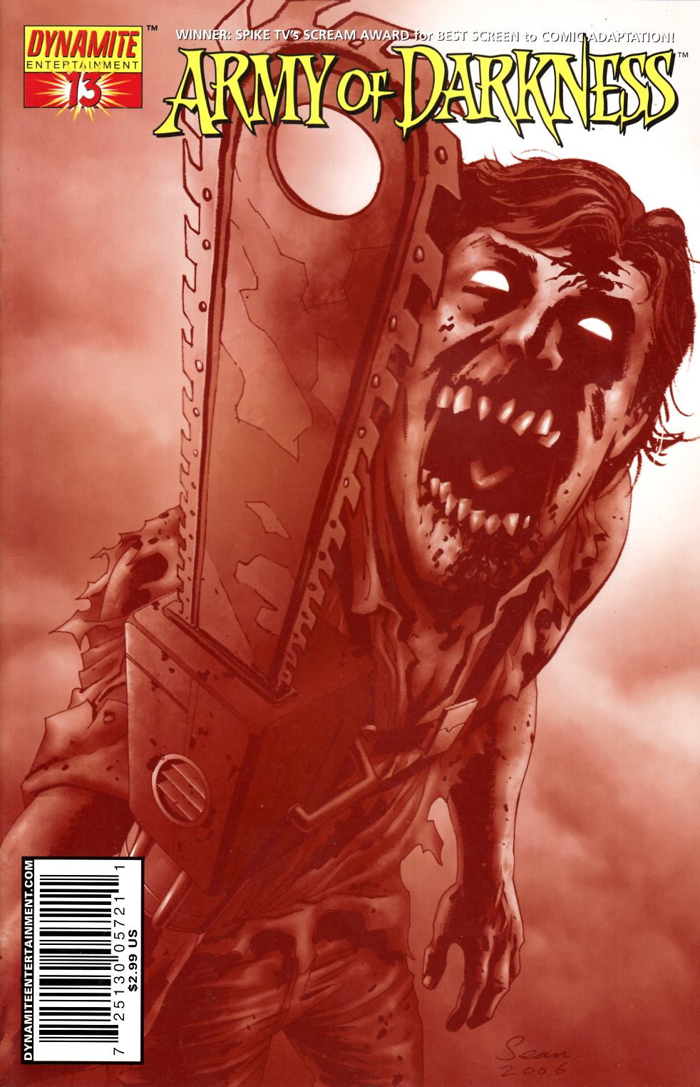Army of Darkness #13 Cover E Fine (6.0) [Dynamite Comic] THUMBNAIL
