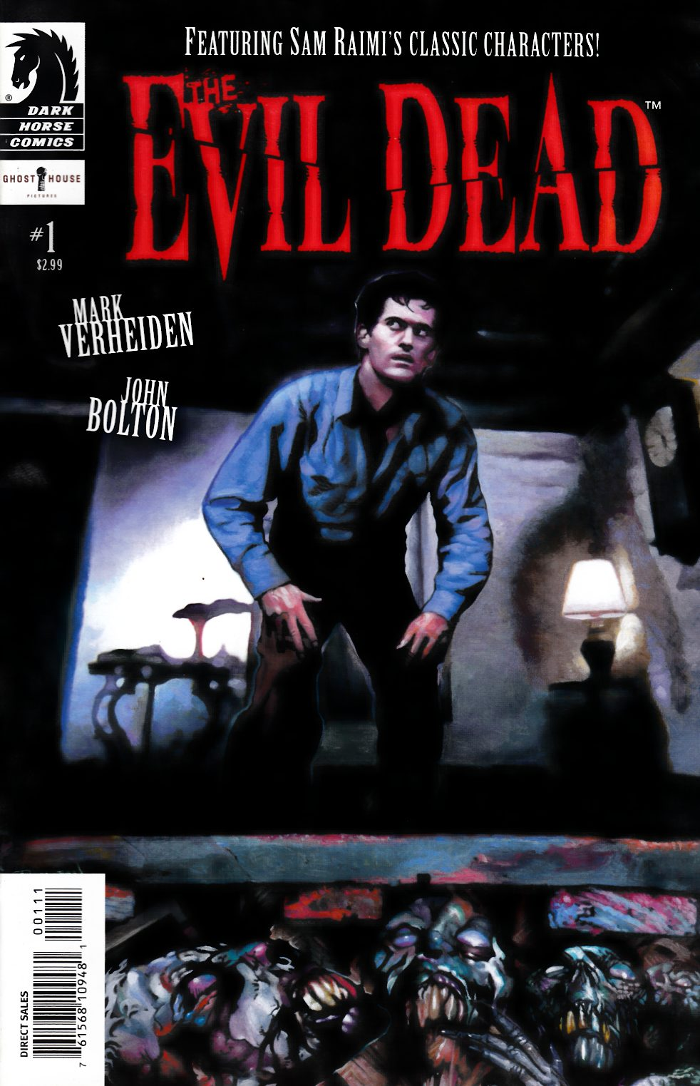 Evil Dead #1 Near Mint (9.4) [Dark Horse Comic]_THUMBNAIL