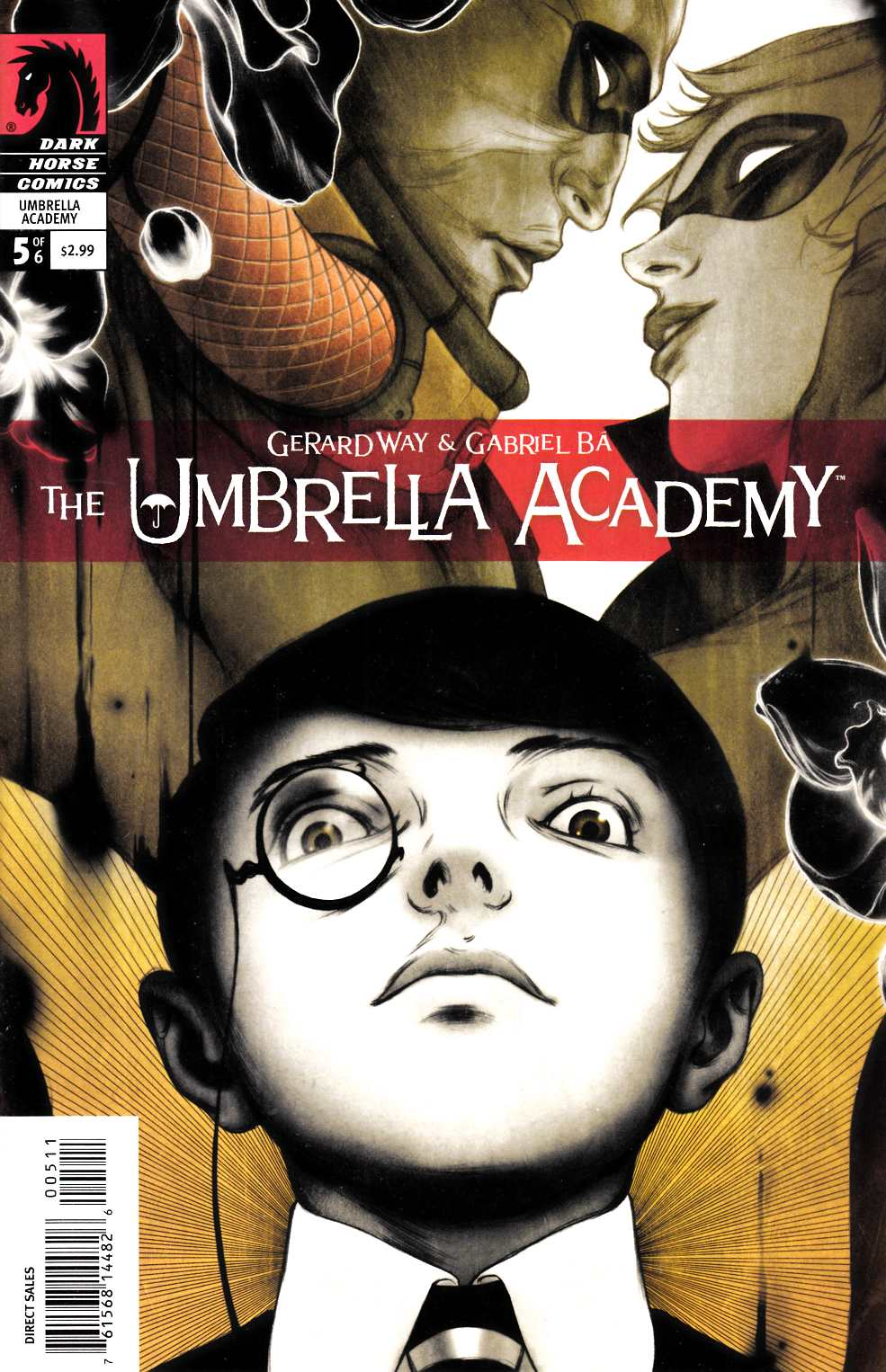 Umbrella Academy Apocalypse Suite #5 [Dark Horse Comic]