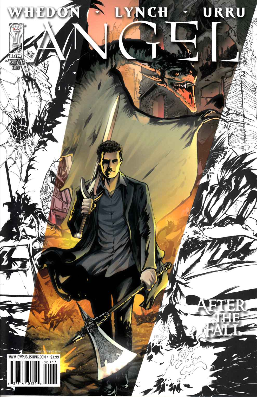 Angel After the Fall #1 Third Printing Near Mint (9.4) [IDW Comic] THUMBNAIL