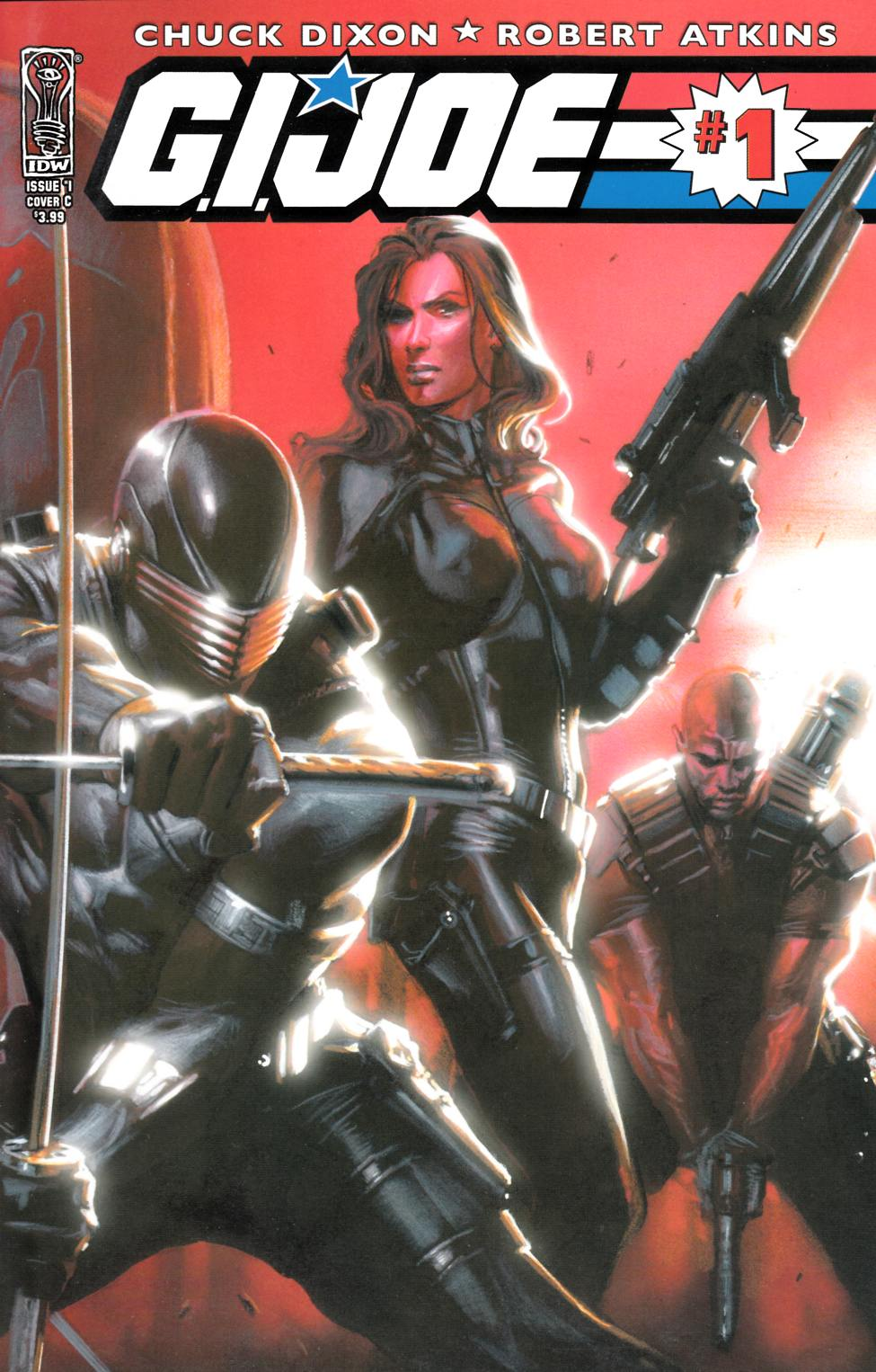 GI Joe #1 Cover C [IDW Comic] THUMBNAIL