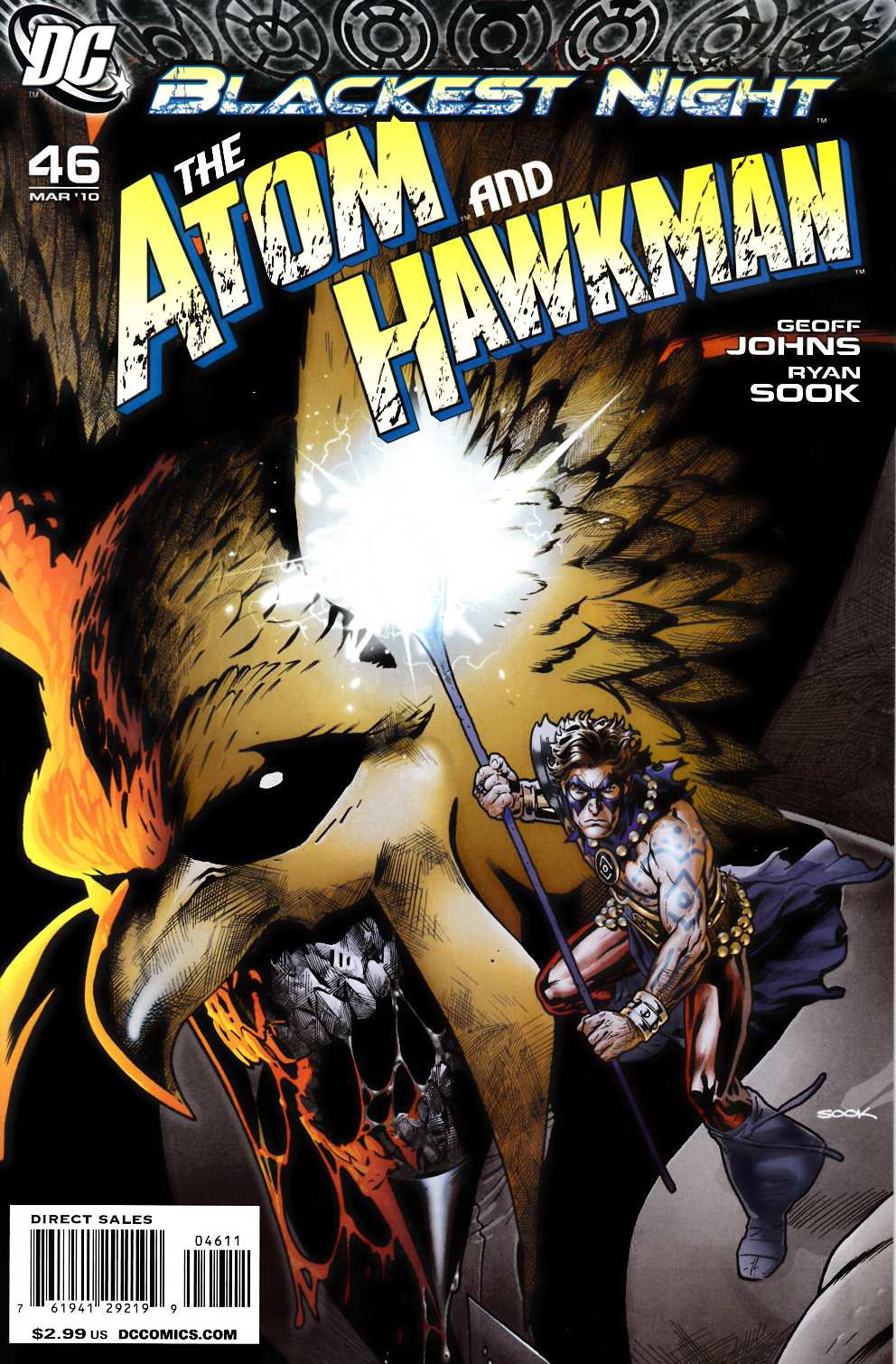 Atom Hawkman #46 Near Mint (9.4) [DC Comic]