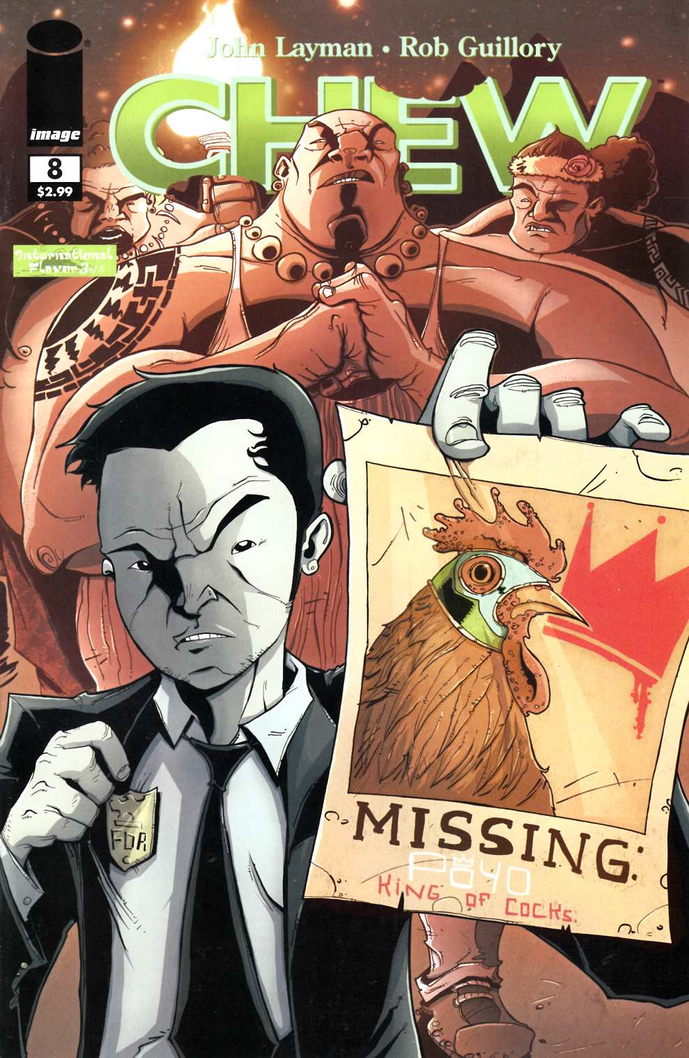 Chew #8 [Image Comic]