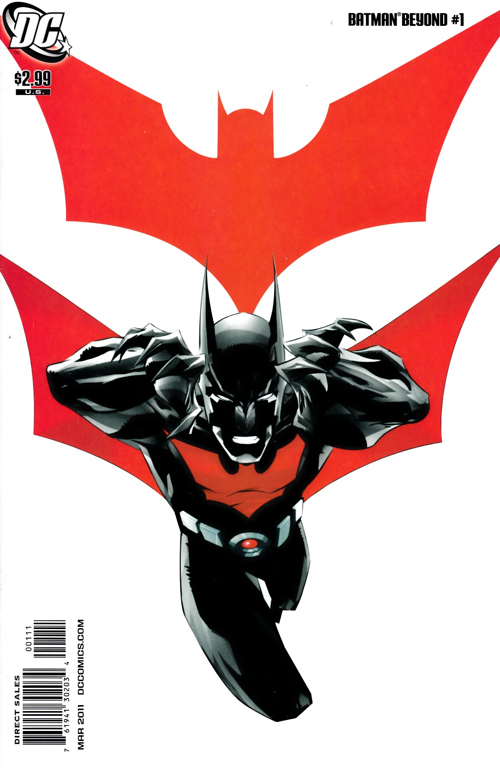Batman Beyond #1 Very Fine Plus (8.5) [DC Comic]_THUMBNAIL