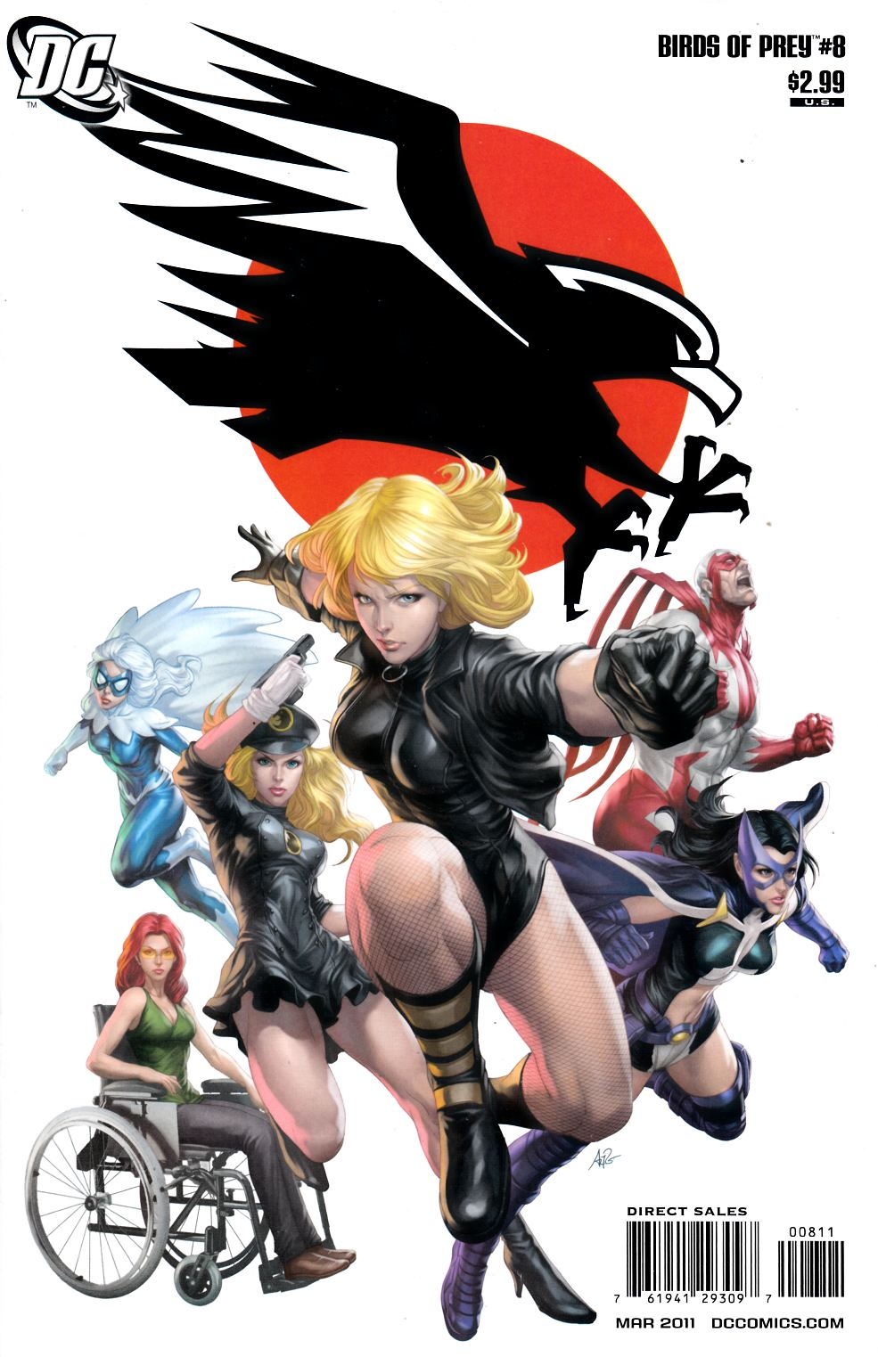 Birds of Prey #8 Very Fine Plus (8.5) [DC Comic]