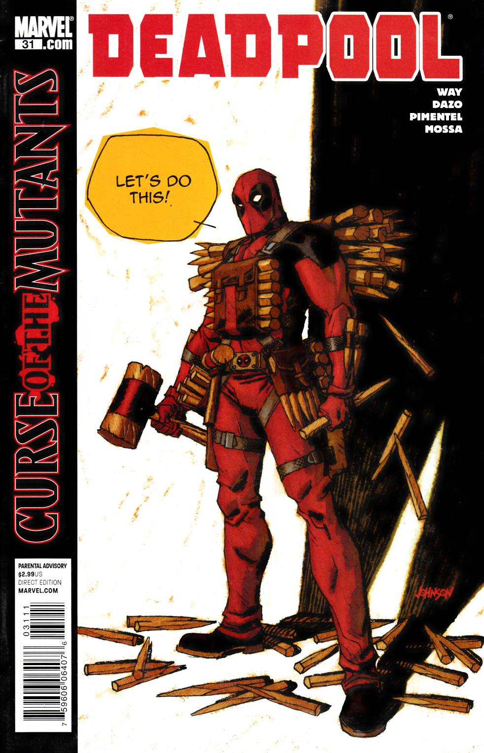 Deadpool #31 Fine (6.0) [Marvel Comic] LARGE
