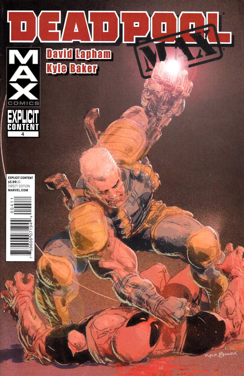 Deadpool Max #4 Very Fine (8.0) [Marvel Comic] THUMBNAIL