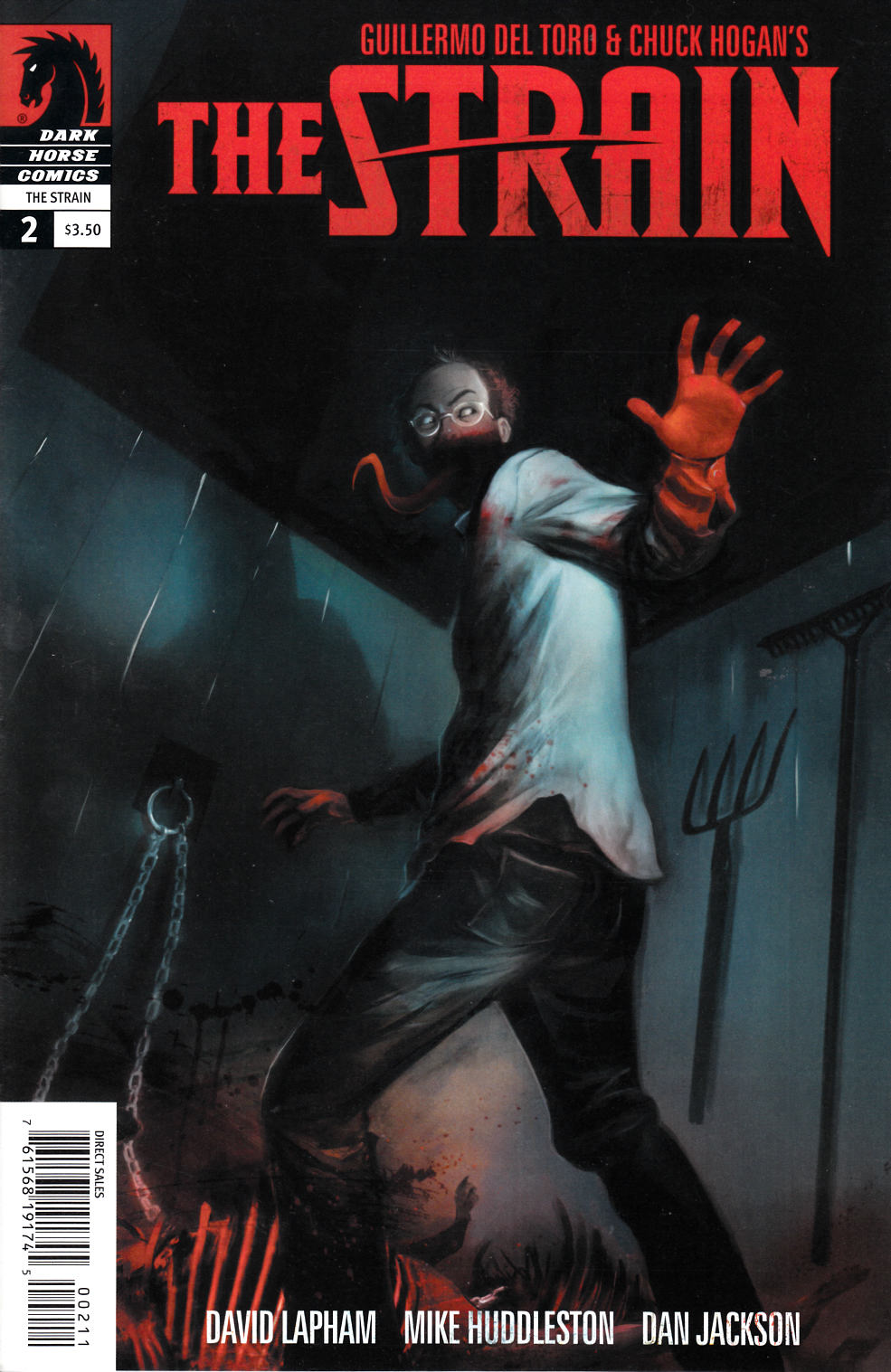 The Strain #2 [Dark Horse Comic]