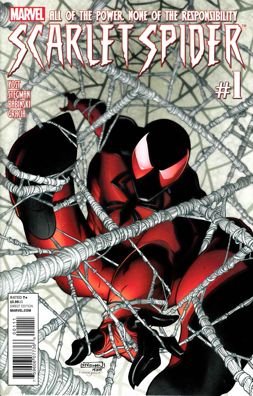 Scarlet Spider #1 Very Fine Plus (8.5) [Marvel Comic] THUMBNAIL