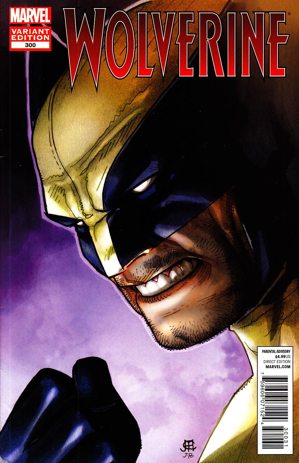 Wolverine #300 Cheung Variant Cover [Marvel Comic]