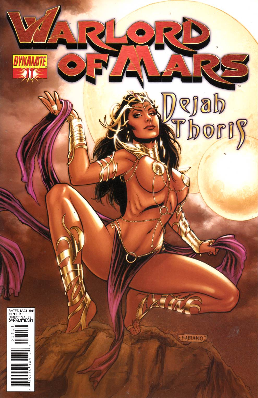Warlord of Mars Dejah Thoris #11 Neves Cover Near Mint Minus (9.2) [Dynamite Comic] THUMBNAIL