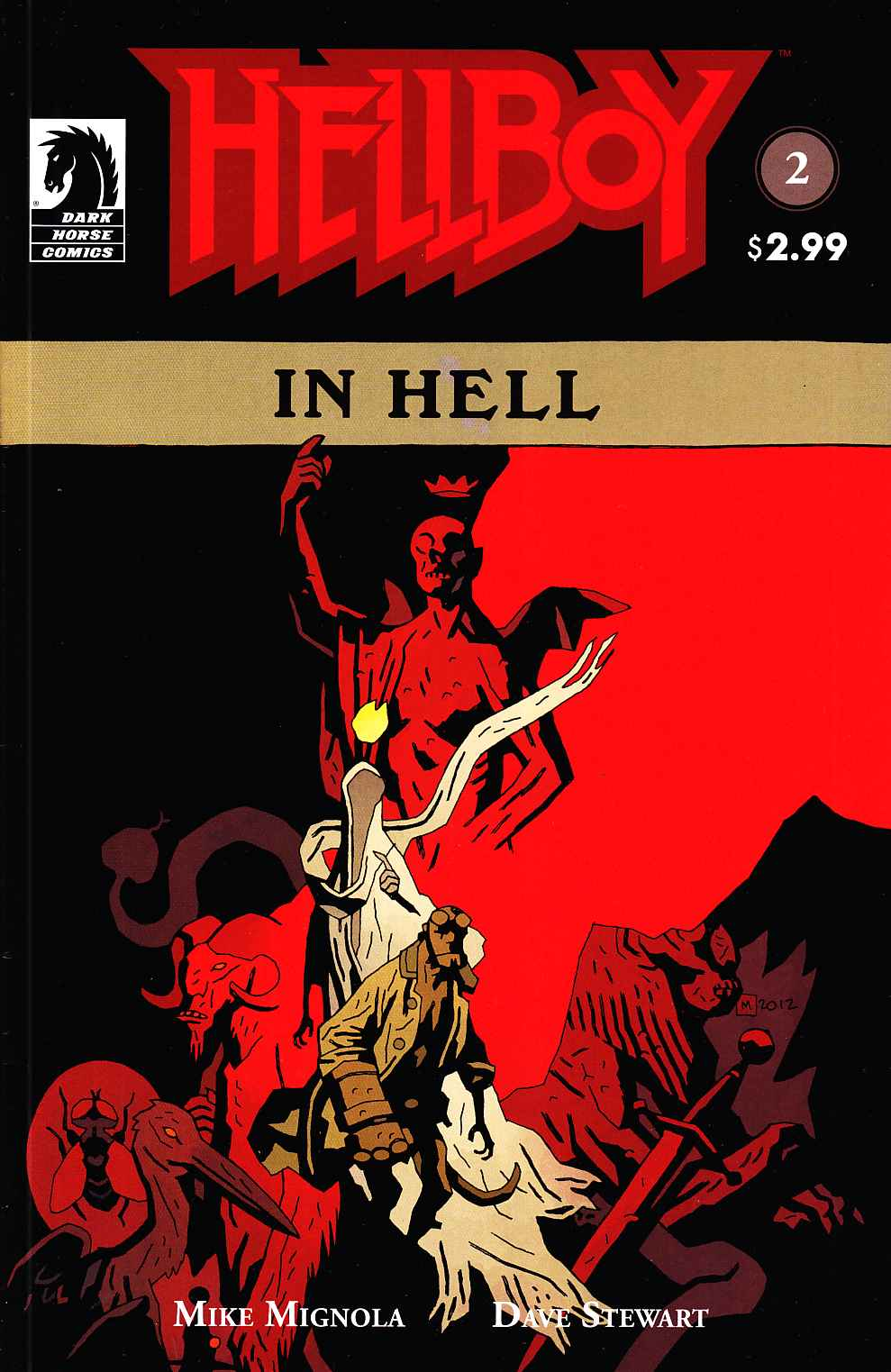 Hellboy In Hell #2 [Dark Horse Comic] THUMBNAIL