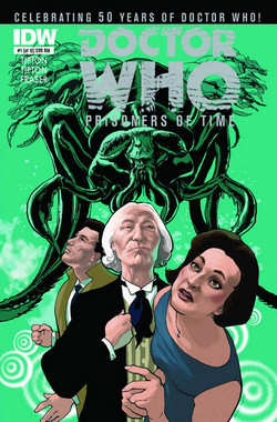 Doctor Who Prisoners Of Time #1 Cover RIA [Comic] LARGE