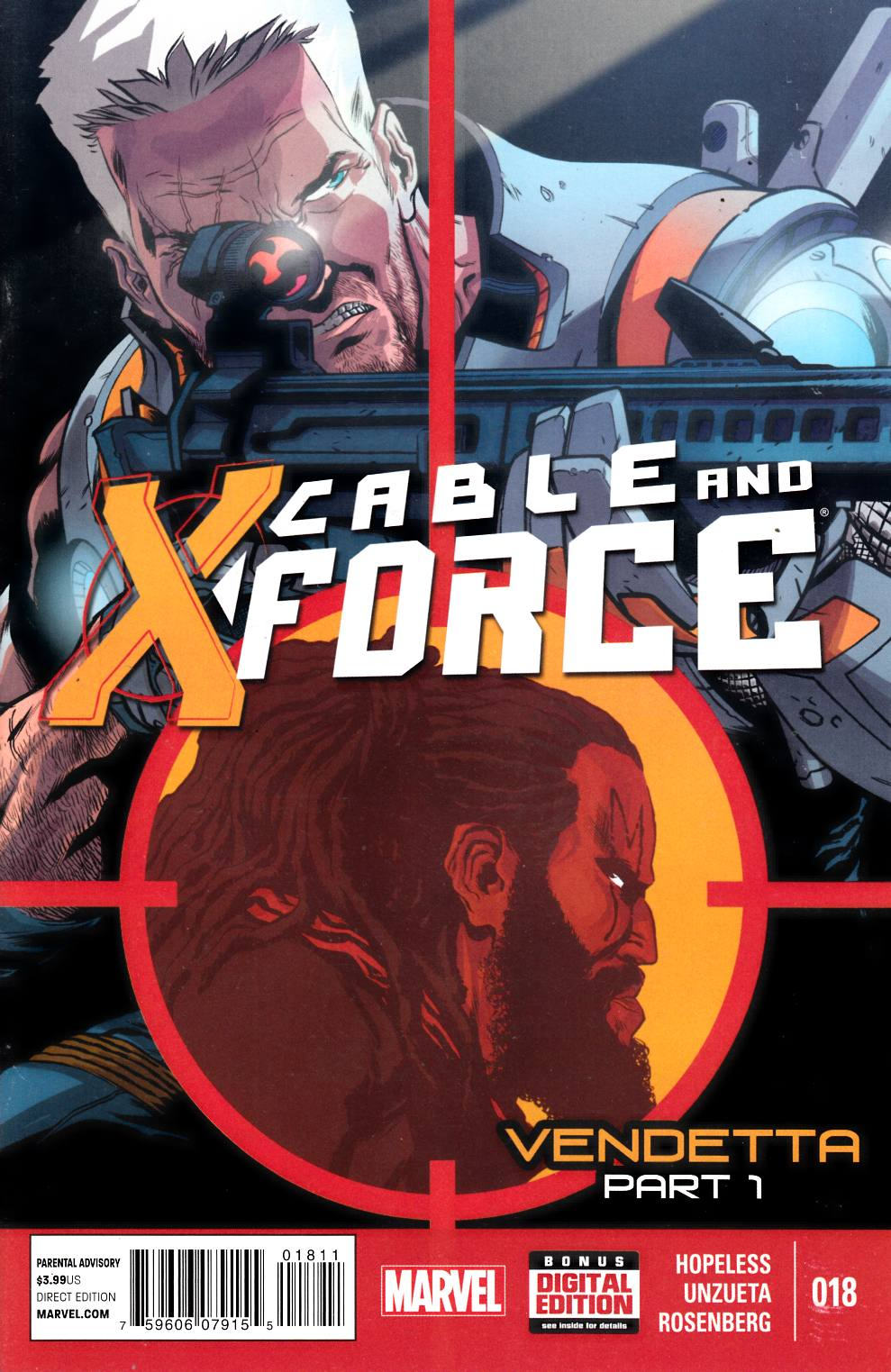 Cable and X-Force #18 Very Fine (8.0) [Marvel Comic] LARGE