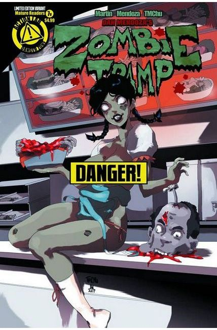 Zombie Tramp Ongoing #7 Risque Cover [Danger Zone Comic]