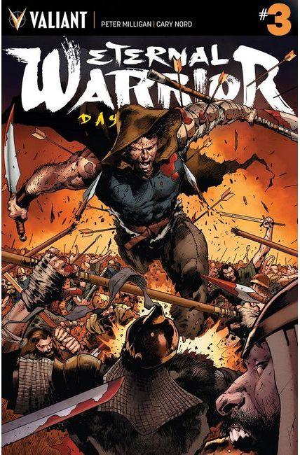 Eternal Warrior Days of Steel #3 Cover A- Hairsine [Valiant Comic] THUMBNAIL
