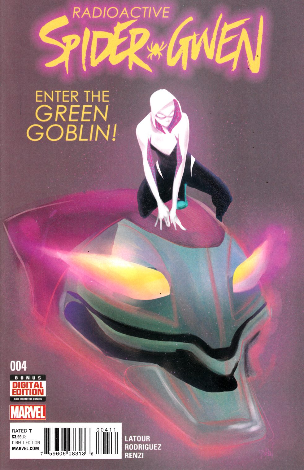 Spider-Gwen #4 Near Mint (9.4) [Marvel Comic] LARGE