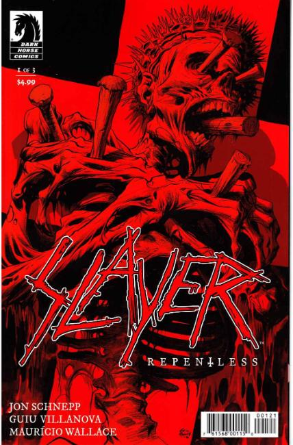 Slayer Repentless #1 Powell Variant Cover [Dark Horse Comic]
