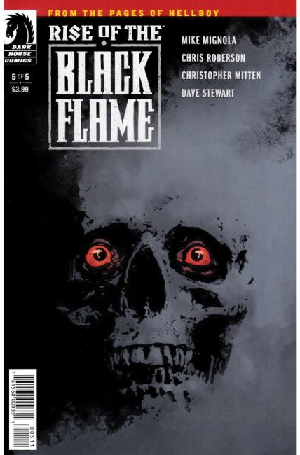Rise of the Black Flame #5 [Dark Horse Comic] THUMBNAIL