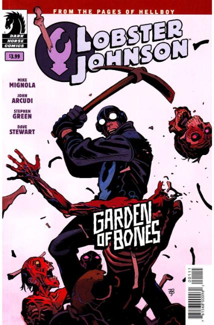Lobster Johnson Garden of Bones One Shot [Dark Horse Comic] THUMBNAIL