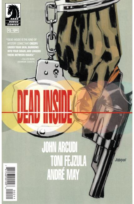 Dead Inside #2 [Dark Horse Comic] THUMBNAIL