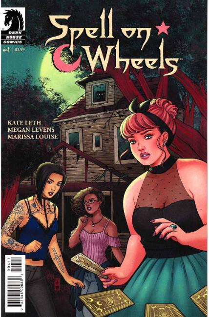 Spell on Wheels #4 [Dark Horse Comic] THUMBNAIL