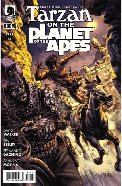Tarzan on the Planet of the Apes #5 [Dark Horse Comic] THUMBNAIL