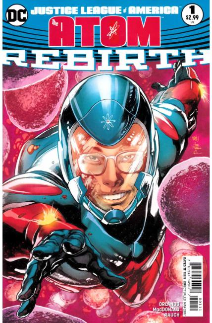 Justice League of America The Atom Rebirth #1 [DC Comic] LARGE