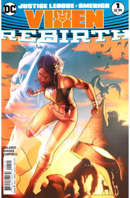 Justice League of America Vixen Rebirth #1 Campbell Variant Cover [DC Comic] THUMBNAIL