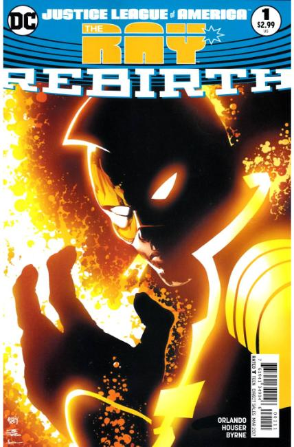 Justice League of America The Ray Rebirth #1 [DC Comic]_THUMBNAIL