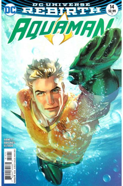 Aquaman #14 Middleton Variant Cover [DC Comic] THUMBNAIL