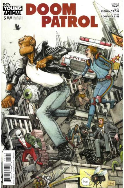 Doom Patrol 5 Dalrymple Variant Cover Dc Comic