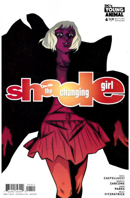 Shade the Changing Girl #4 [DC Comic] LARGE