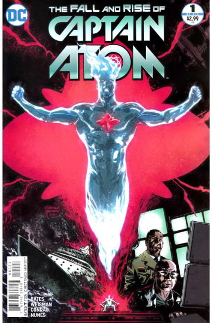 Fall and Rise of Captain Atom #1 Hardman Variant Cover LARGE