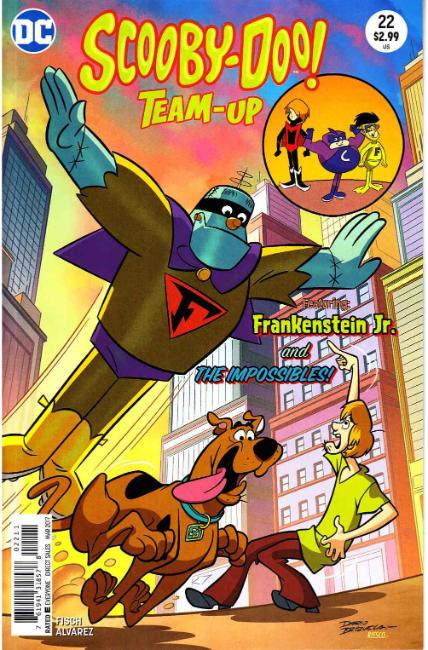 Scooby Doo Team Up #22 [DC Comic] THUMBNAIL